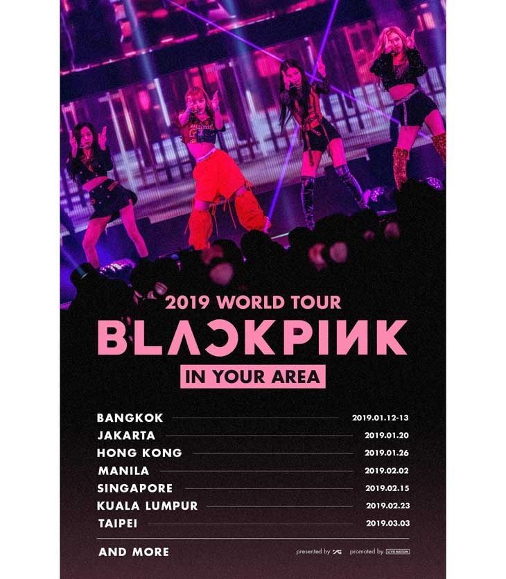 BLACKPINK Announces 2019 World Tour, Check Your Country Here!